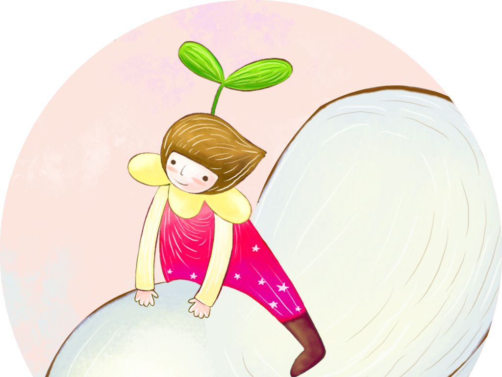 小女孩公主房手绘气球浪漫清新唯美温馨时尚简约典雅自由主题房壁画