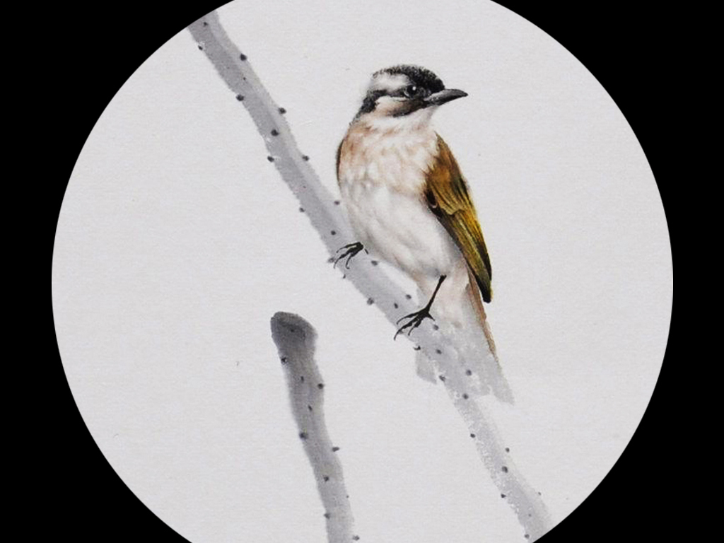新中式禅意意境水墨花鸟装饰画(图片编号:15039516 ...
