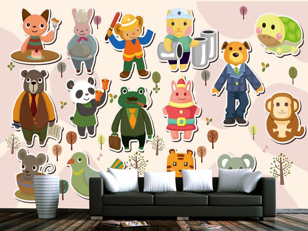 动物卡通笑脸卡通小猴子卡通人物素描图片卡通小白兔卡通人物大全卡通