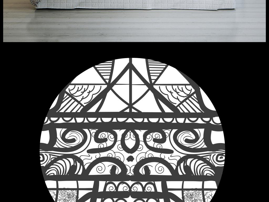 埃菲尔铁塔手绘素描
