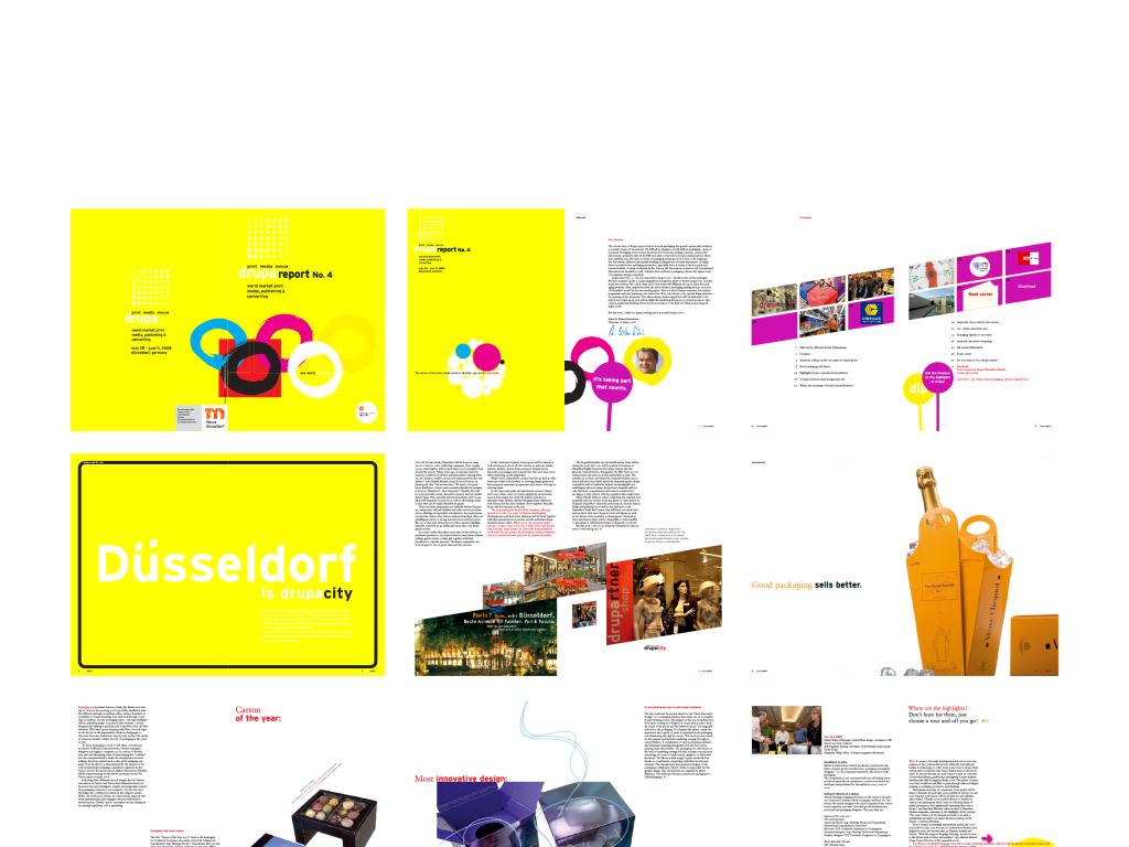 国外国际化个性创意商务企业产品宣传册设计服装个性排版