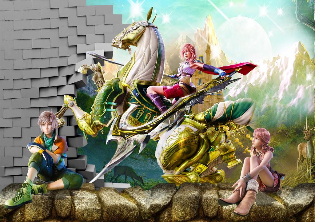 3d动画游戏卡通儿童房背景墙