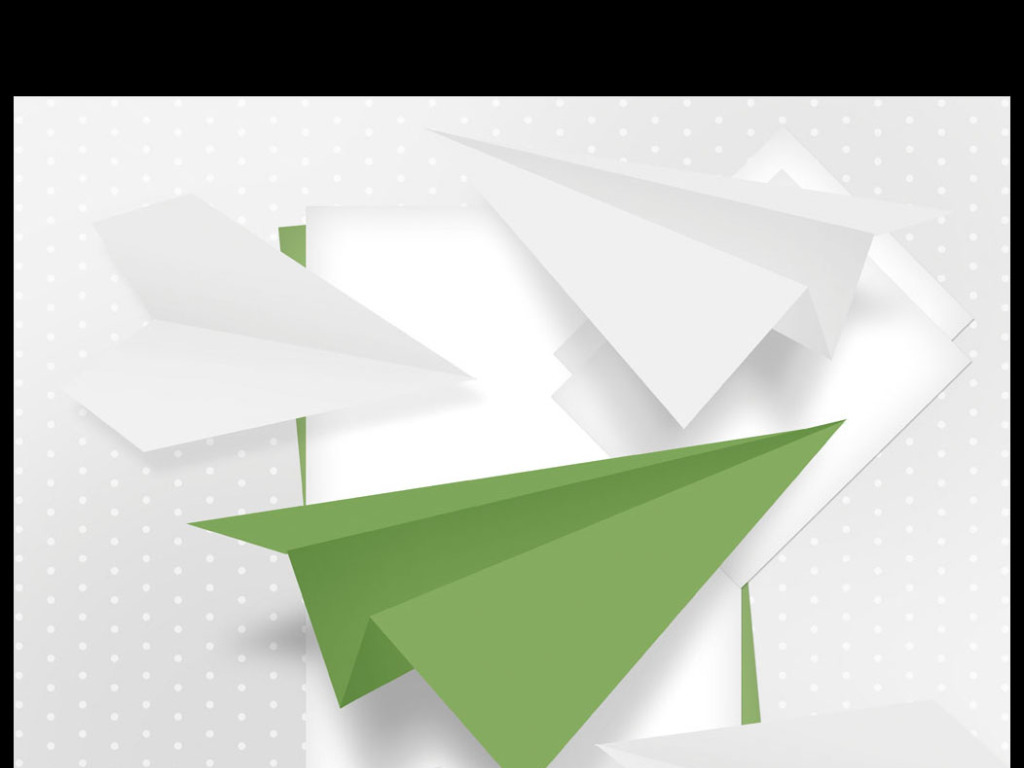 流行纸飞机折纸花纹印花图案花纹psd分层素材下载