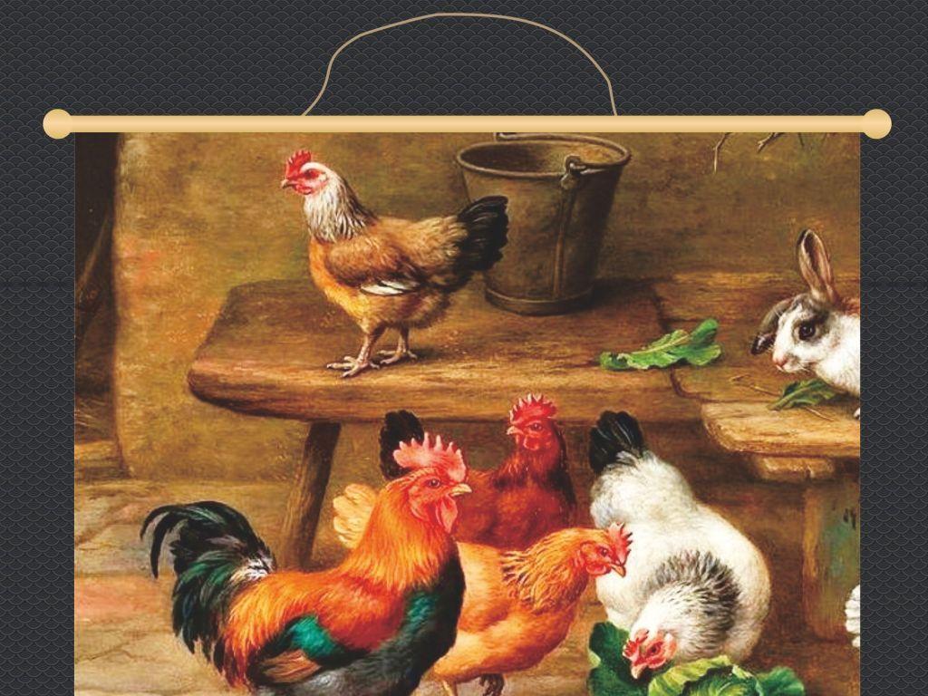 儿童鸡年手绘海报
