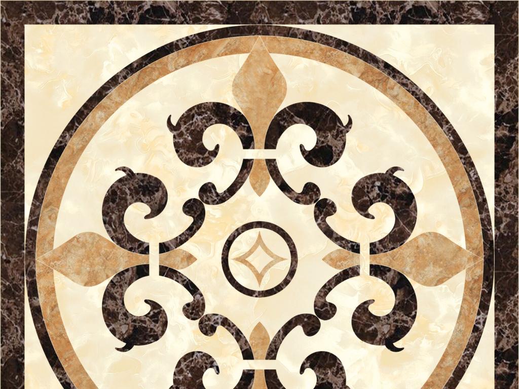 psd)                                  石材拼图正方形拼花瓷砖地心图片