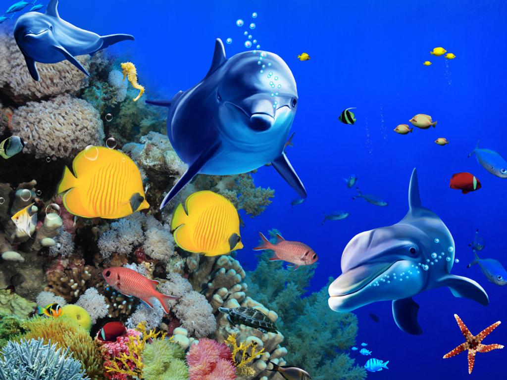 win7动态屏保下载_3D热带鱼(海底世界)动态屏保,在哪下载-3D热带鱼(海底世界 ...