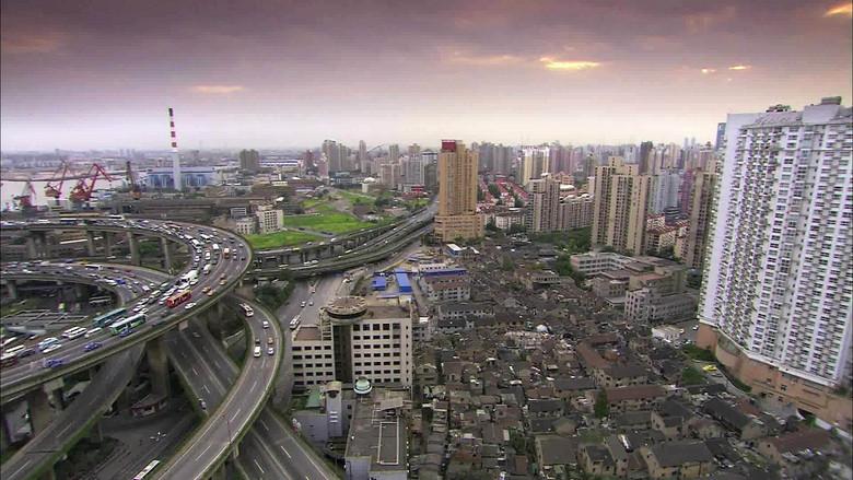 上海立交桥上海夜景一组黄浦江大楼模板素材 高清格式下载 视频9.30