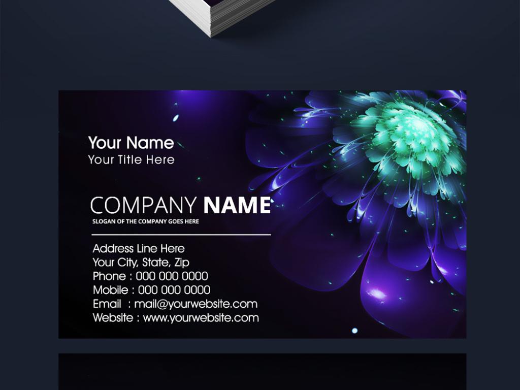 名片模板名片模板免费下载名片模板psd个人名片设计模板化妆师名片