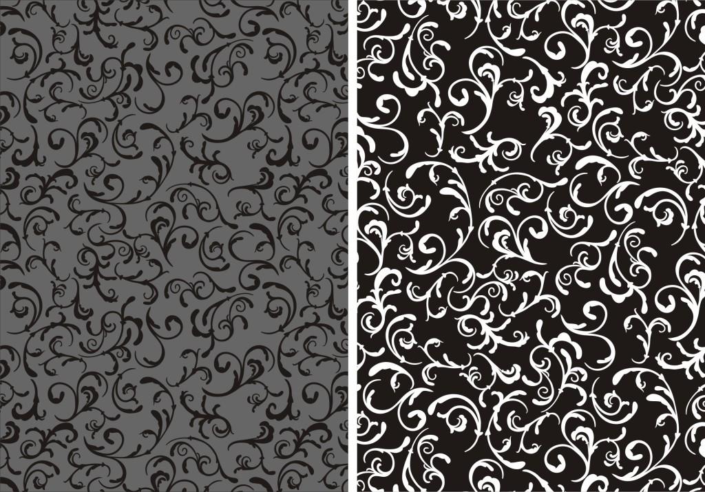 设计作品简介: 欧式花纹床单墙纸160520-a4 矢量图, cmyk格式高清大图图片