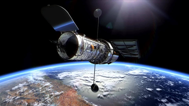 哈勃望远镜的数据被发送到地球