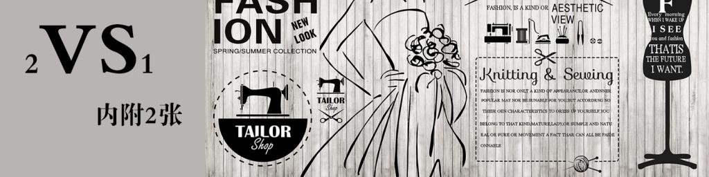 欧式手绘服装店背景墙纸装饰壁画壁纸