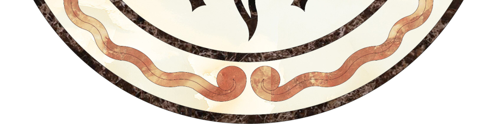 新中式花纹背景室内装修图案拼花图片
