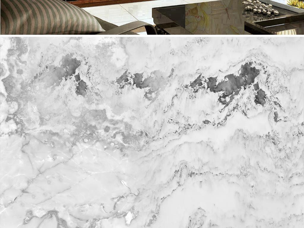 作品模板源文件可以编辑替换,设计作品简介: 山水画石纹大理石 位图