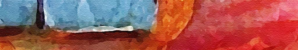 手绘水粉画浪漫温馨个性文艺阳光下的房子