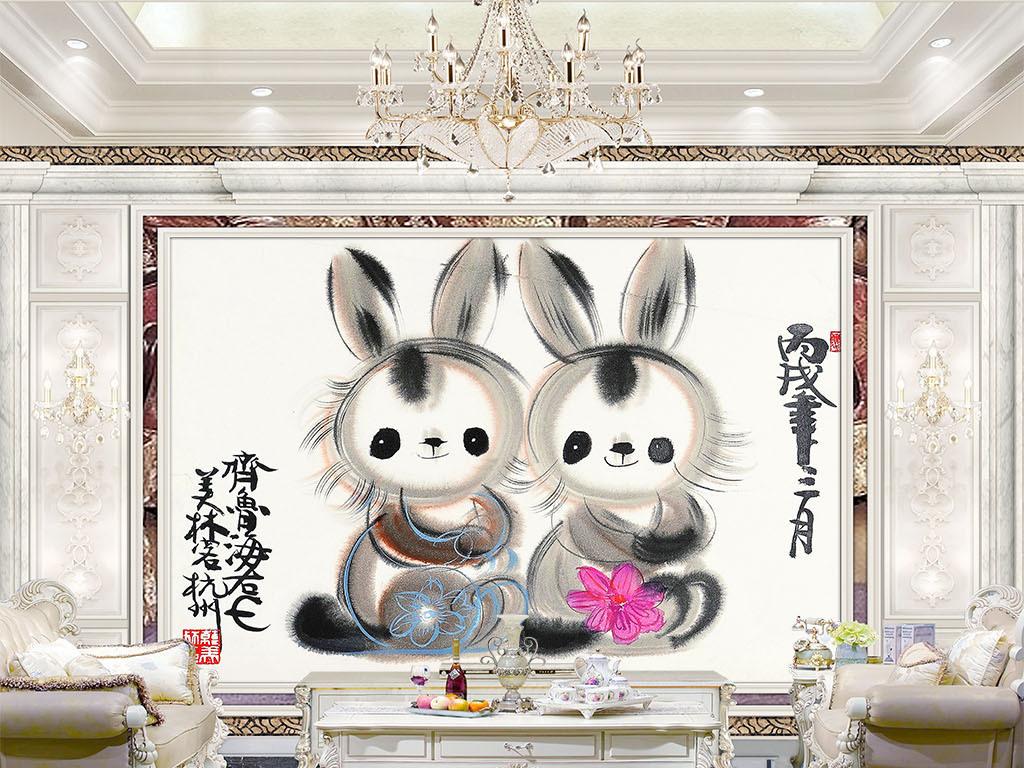 客厅电视背景墙沙发背景墙卧室背景墙餐厅背景墙手绘风景壁画手绘油画
