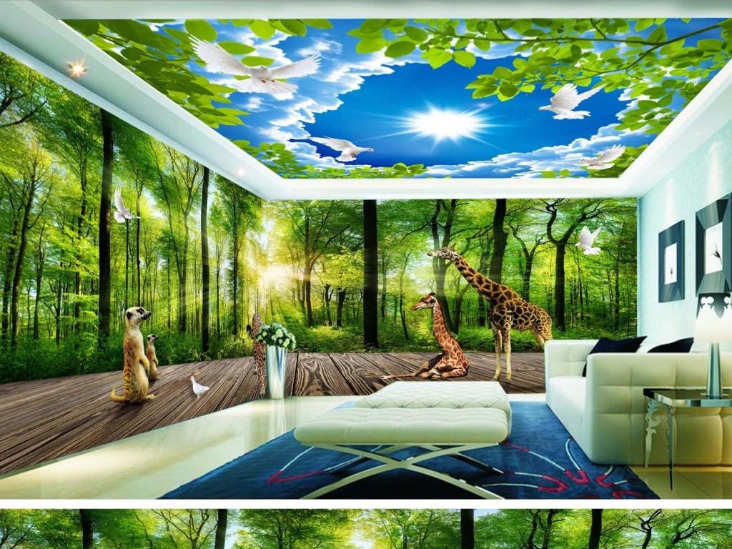 我图网提供精品流行麋鹿绿色森林3D立体主题空间背景墙素材下载,作品模板源文件可以编辑替换,设计作品简介: 麋鹿绿色森林3D立体主题空间背景墙 位图, RGB格式高清大图,使用软件为 Photoshop CS5(.psd)