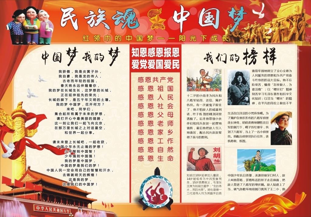 中国梦手抄报中国梦电子小报中国梦我的