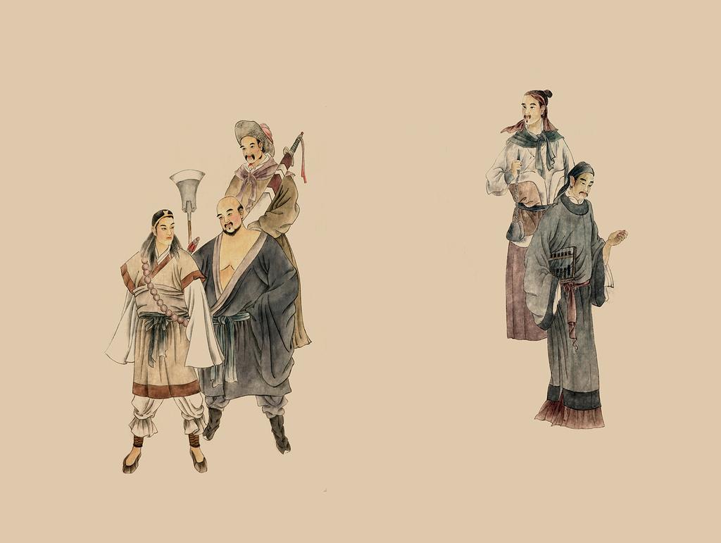 中国古典文学水浒传人物-8