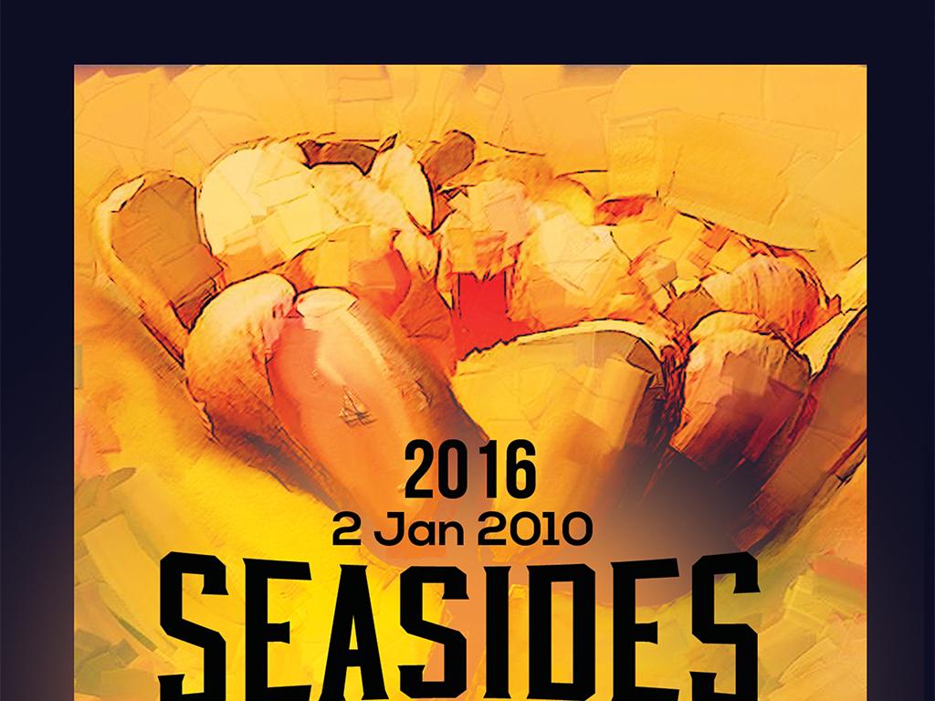 唯美油画艺术展览创意活动海报模板下载(图片编号:)
