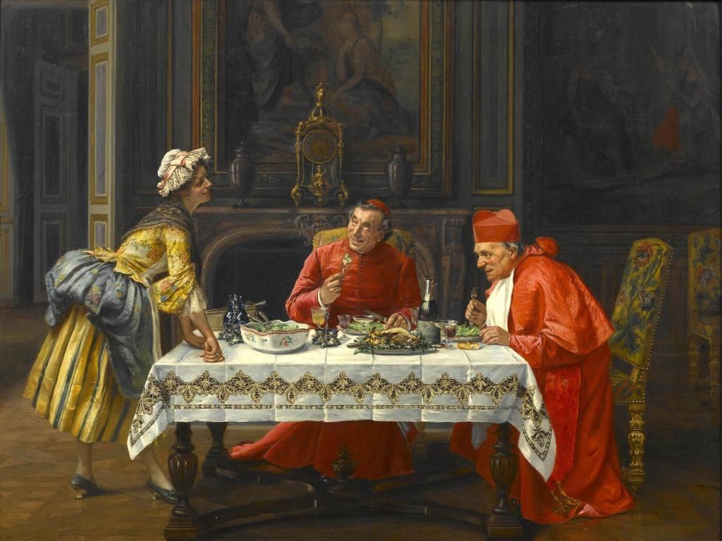 欧洲人物皇室油画tif高清油画图片