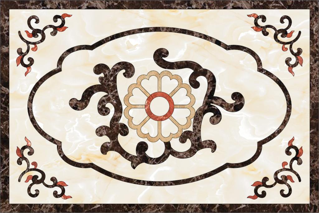 欧式大理石拼花石材水刀图案(图片编号:15220536)__我图片