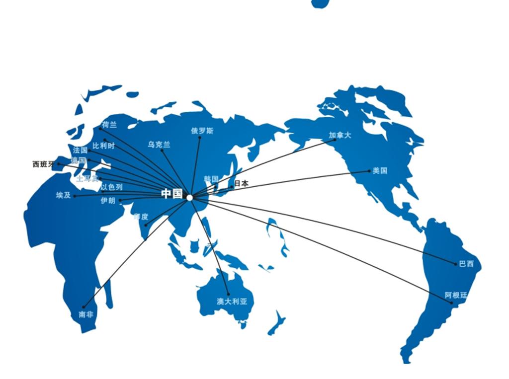 中国地图世界地图矢量图