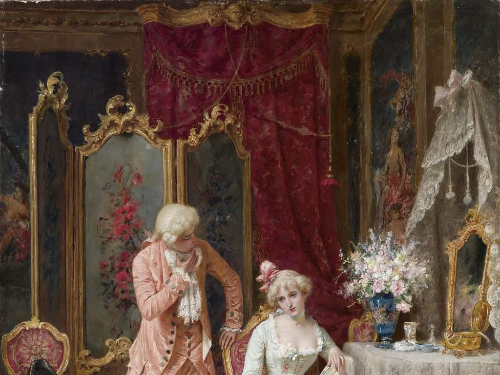 欧洲油画世界名画人像油画作品