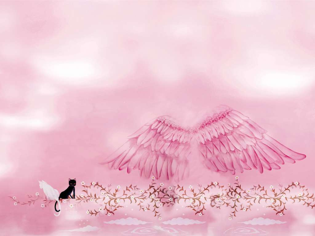 童话插画背景手绘插页设计背景
