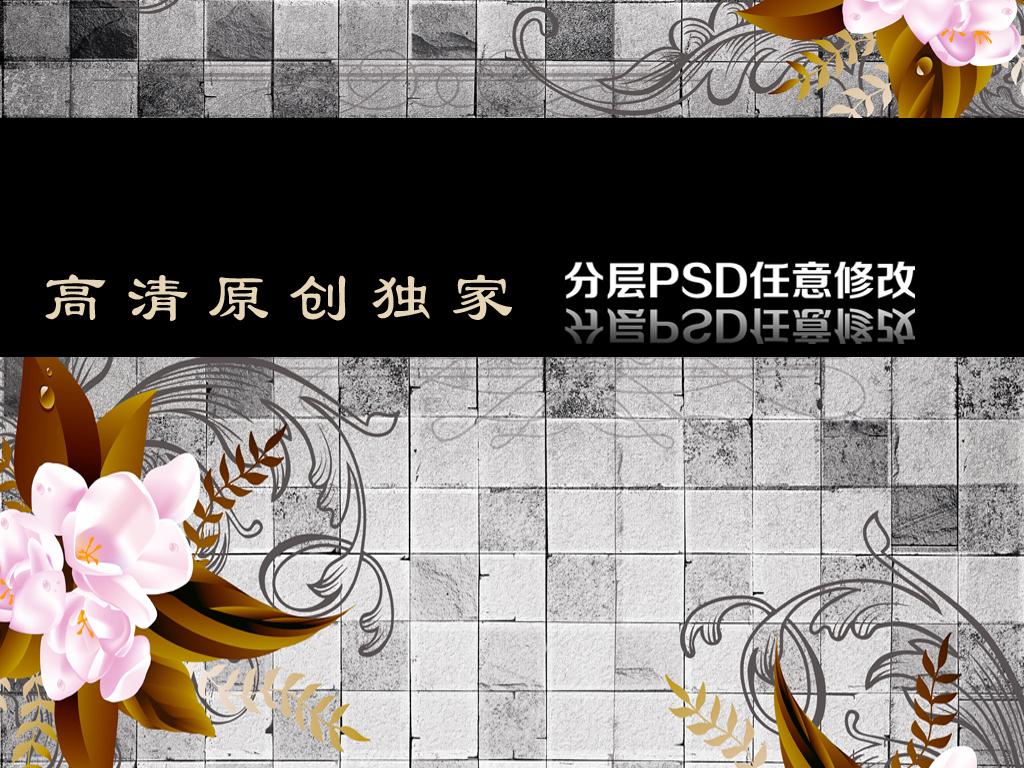 3d电视背景墙 > 欧式瓷砖手绘花背景墙  版权图片 设计师 : qq