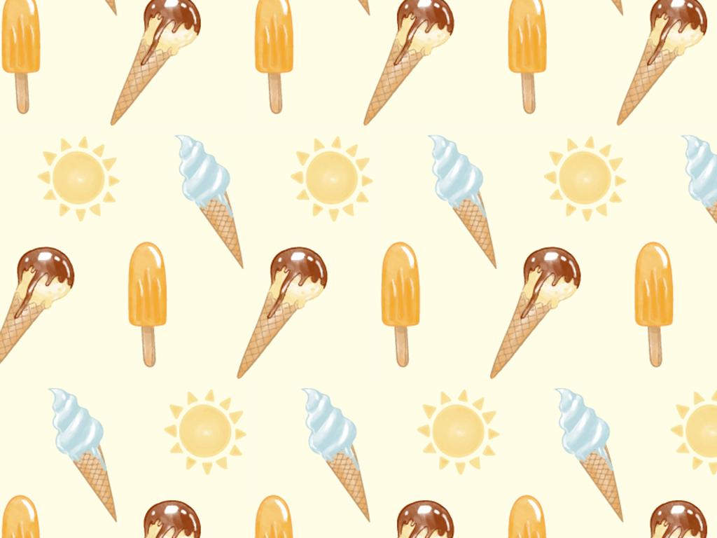 雪糕冰淇淋招贴