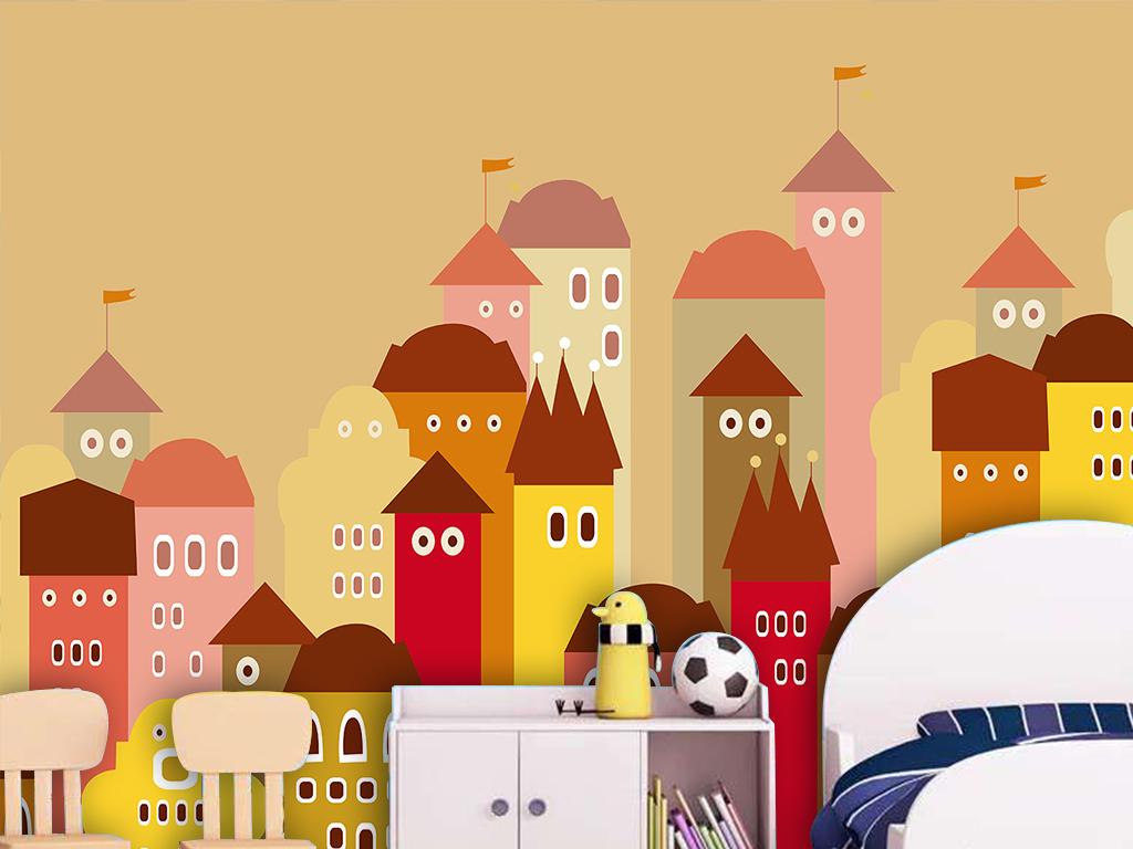 背景墙|装饰画 壁画 手绘壁画 > 卡通儿童房壁画幼儿园背景墙  版权