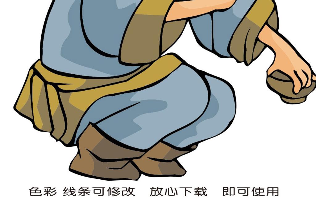 卡通人物插图