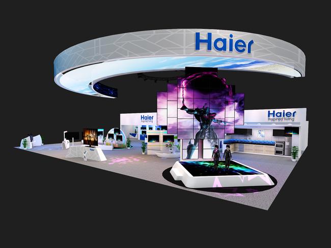 海尔展台设计方案