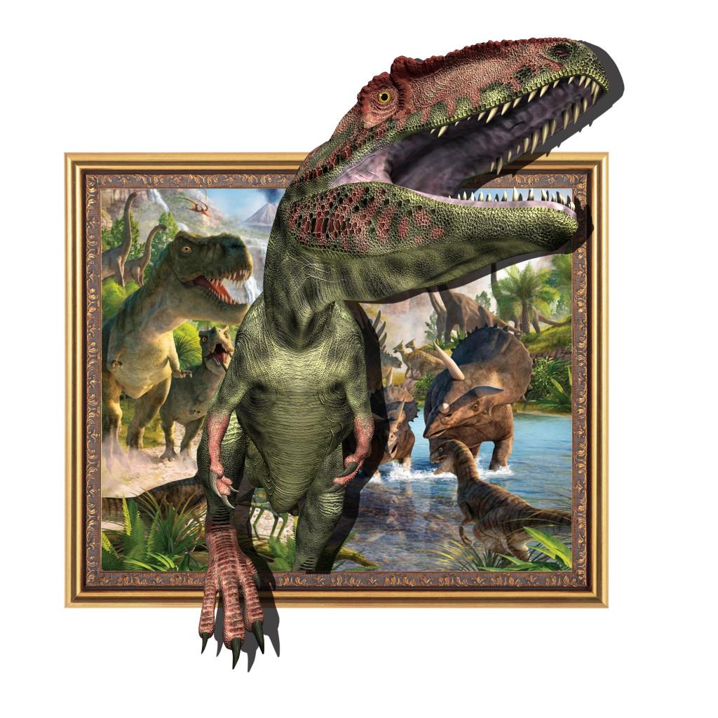 3d立体画之侏罗纪时代