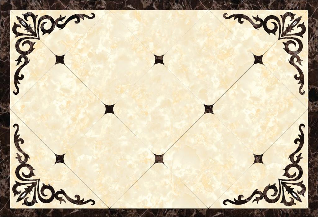 欧式大理石客厅地面石材拼花背景墙图案(图片编号:)图片