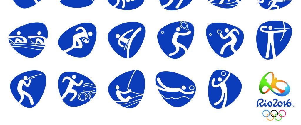 体育项目标志图片