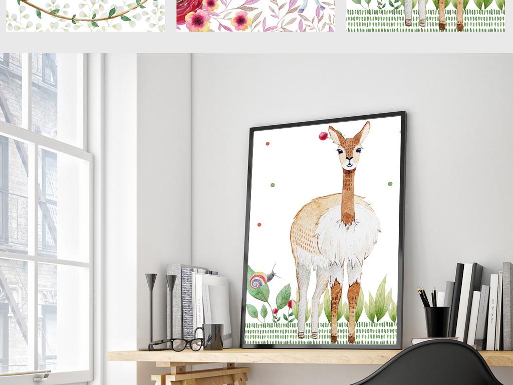 欧式简约动物装饰画(图片编号:15360248)