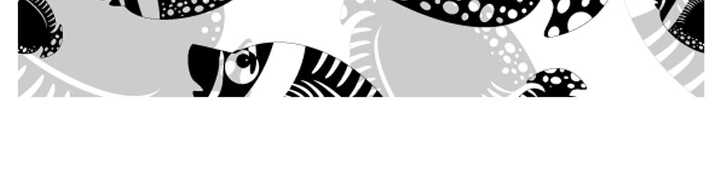 a黑白简约卡通鱼电视背景图