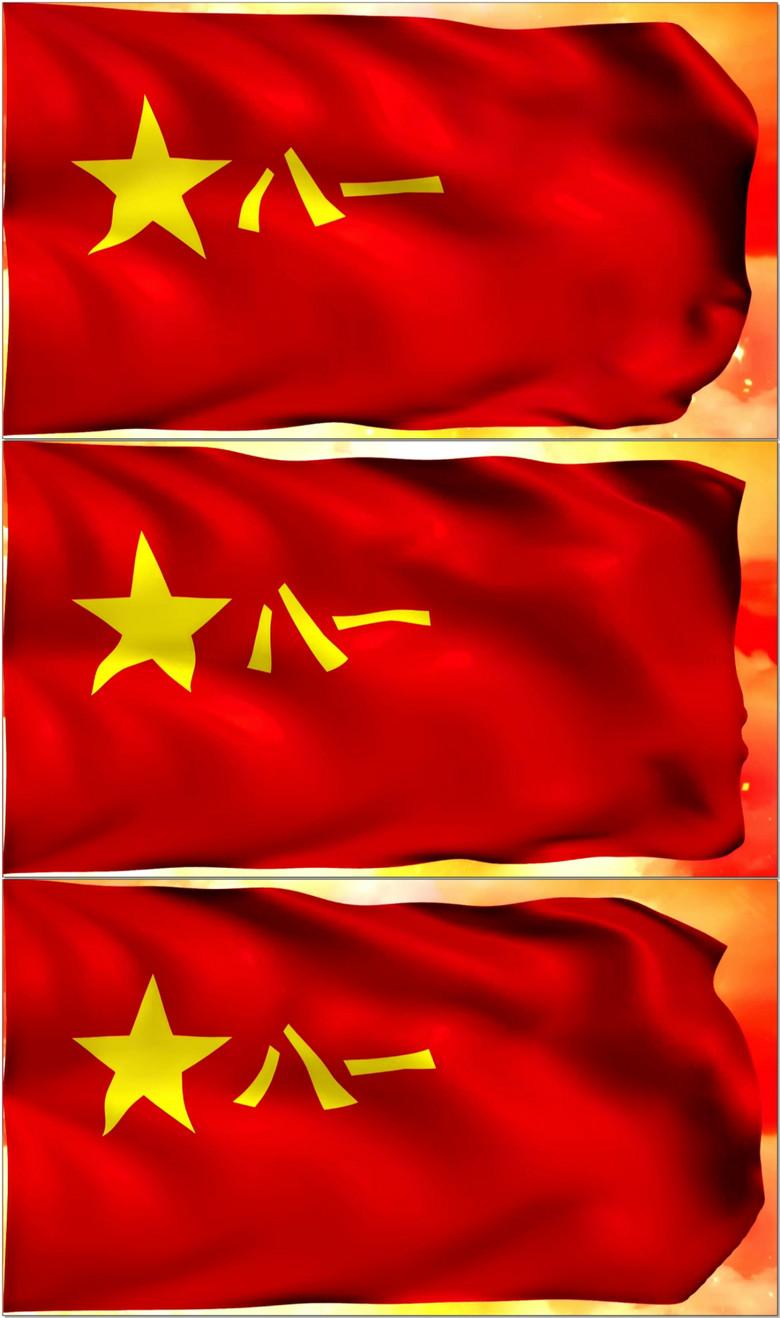 中国人民解放军军旗LED背景