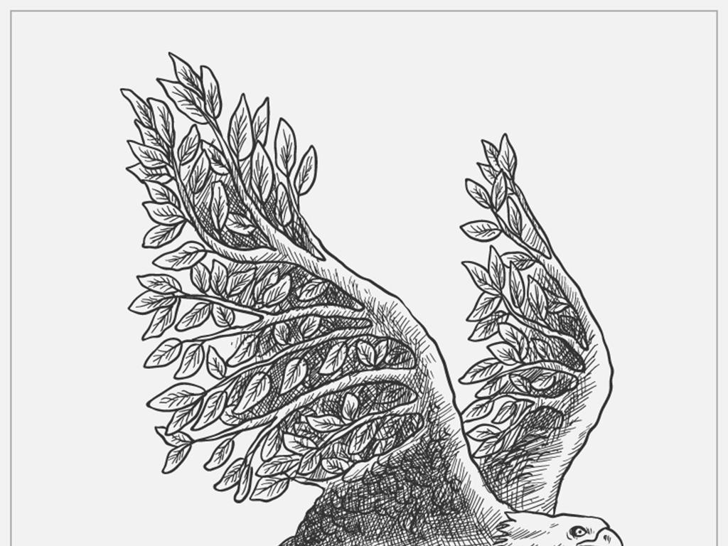 铅笔画鸟                                  卡通鸟卡通可爱的鸟手绘