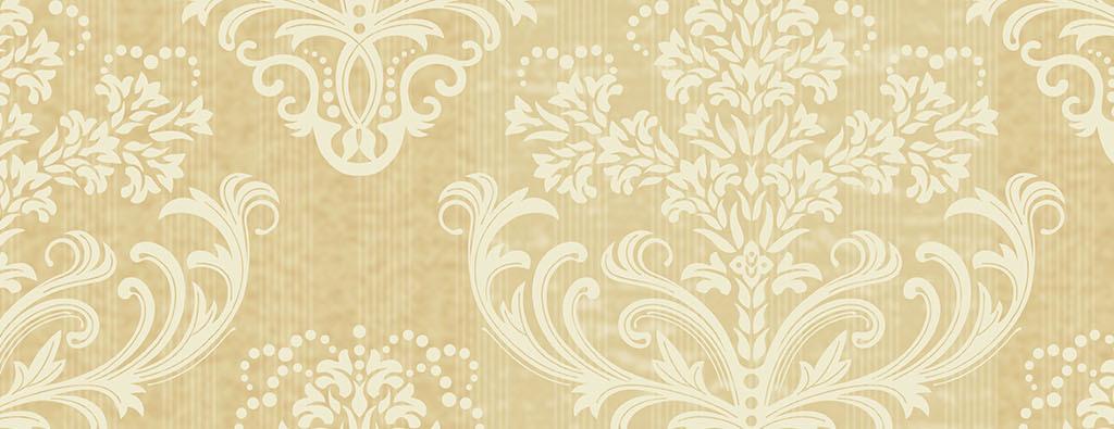 欧式大马士革客厅卧室壁纸墙纸