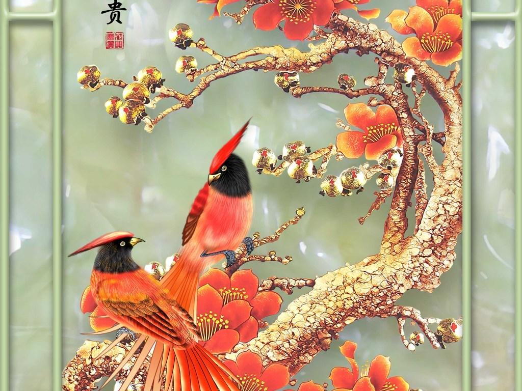 壁纸 动物 鸟 鸟类 雀 1024_768