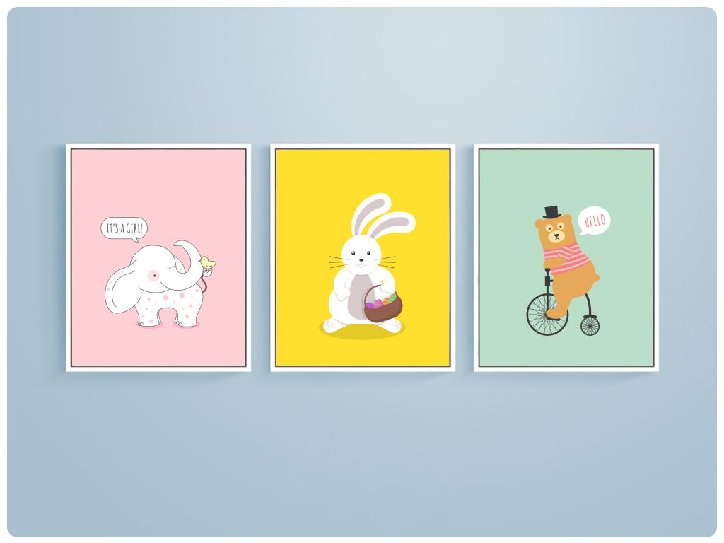 动物熊卡通小动物图片卡通海洋动物可爱卡通动物图片小动物卡通图片
