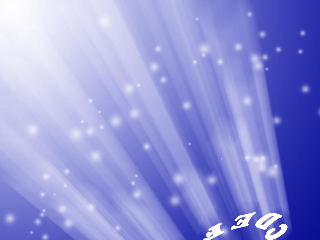 光点圆点光环文字字母反射照射蓝色背景图