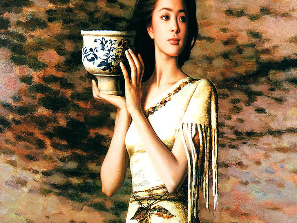风景油画人物油画油画风景手绘油画高清油画油画棒牡丹花油画立体油画