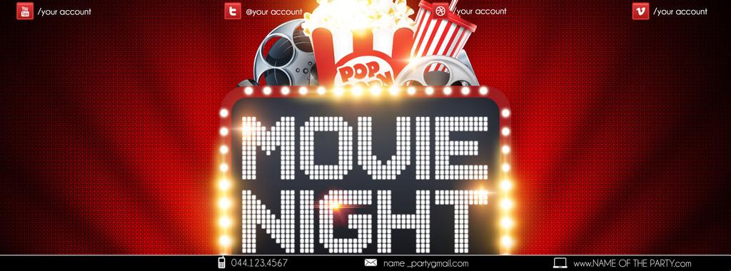 平面 广告设计 海报设计 pop海报 > 电影院新片上映夜场促销创意宣传