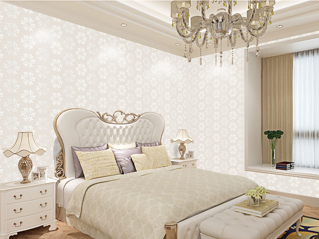 ai)欧式温馨墙纸壁纸电视                                  室内图片