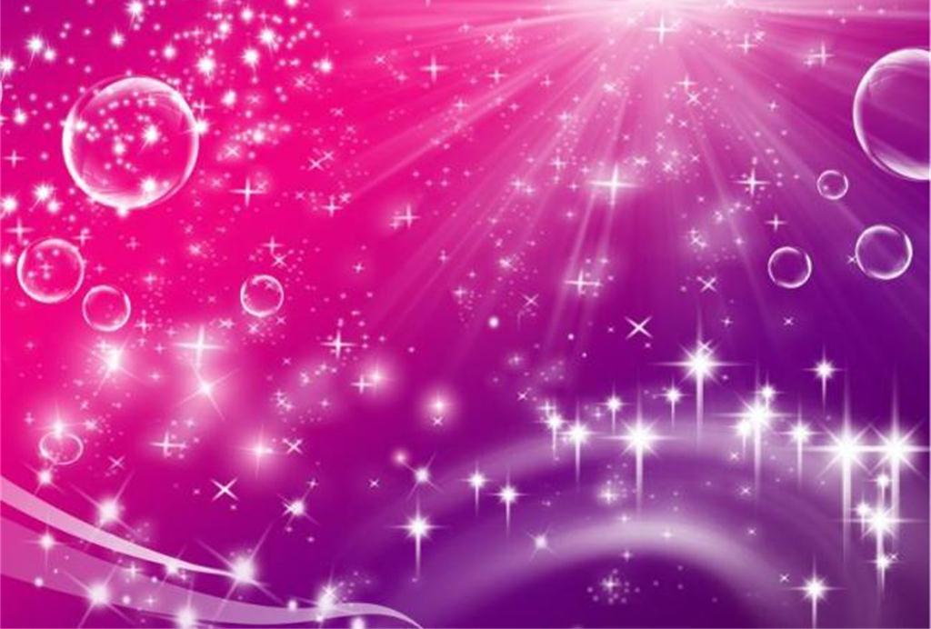 发光光线星光平面图靓丽玫瑰红色紫色背景设计图闪耀