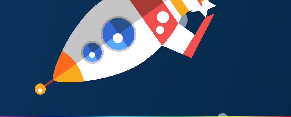 背景墙|装饰画 电视背景墙 手绘电视背景墙 > 卡通宇宙星空太空飞船