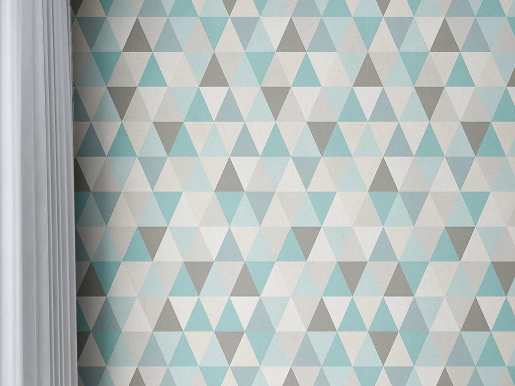 现代简约壁纸                                  手绘壁纸几何